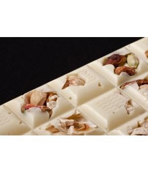 Tavoletta Cioccolato Bianco con Frutta Secca 100g