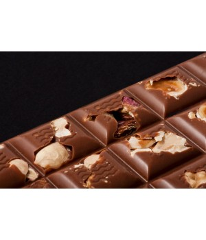 Tavoletta Cioccolato al Latte (41% cacao min.) con Frutta Secca 100g