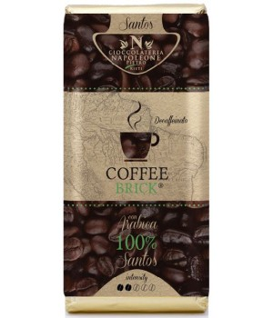 Coffee Brick - Decaffeinato Santos 100g