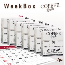 Coffee Brick - WEEK - BOX